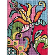 Canoodles-- Tulip Abstract-- Needlepoint Kit
