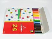 Colleen Premium Colour Pencils, 24 Coloured Pencils