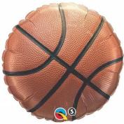 90cm Basketball Mylar Balloon - Huge 0.9m Mylar Balloon