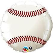 90cm Baseball Mylar Balloon - Huge 0.9m Mylar Balloon