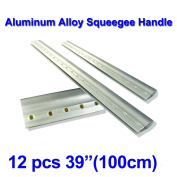 12pcs For Each Kinds Aluminium Alloy Handle Screen Printing Squeegee (100cm