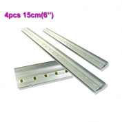 4pcs For Each Kinds Aluminium Alloy Handle Screen Printing Squeegee ... (15cm