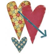 Sizzix Originals Die - Hearts #3