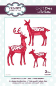 Craft Die CED3042 Sue Wilson Festive Collection - Deer Family