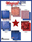 Magical 4th of July Reminisce Scrapbook Papers Set
