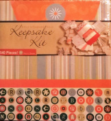 Festive Orange Keepsake Kit -- 504 Pieces!