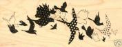 Inkadinkado Rubber Stamp - Aviary Trail