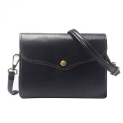 Voberry® Women's Retro Leather Message Shoulder Handbag Crossbody Satchel Bag