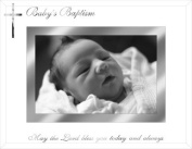 Malden Baby's Baptism, 10cm x 15cm Picture Frame, Silver