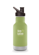 Klean Kanteen Classic Insulated Stainless Steel Water Bottle with 3.0 Sport Cap (350ml, Bamboo Leaf