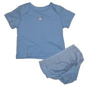 Truly Scrumptious Embroidered Sheep 2 Piece Shirt and Nappy Cover Set