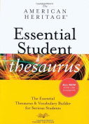 The American Heritage Essential Student Thesaurus, Third Edition