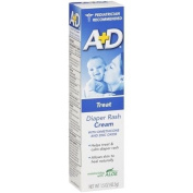 A+D Nappy Rash Cream with Dimethicone and Zinc Oxide, 45ml