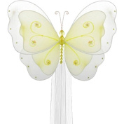 The Butterfly Grove Sasha Butterfly Curtain Tieback, Yellow Daffodil, Small, 13cm x 10cm