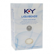 K-Y Liquibeads Vaginal Moisturiser 6 ea Pack of 3
