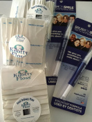 Knotty Floss 1 year supply of Knotty Floss and Teeth Whitener