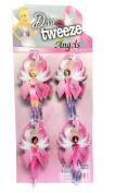 Diva Tweezer Professional Tweezers 'Angels' Pink Ribbon 12-Pack with Display