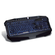 TeckNet® LED Illuminated Gaming Keyboard with Water-Resistant Design, UK layout