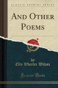 And Other Poems
