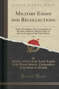 Military Essays and Recollections, Vol. 1