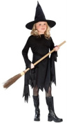 Classic Witchy Witch Black Child Costume Large