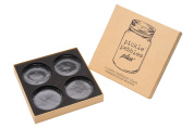 Pickle Pebbles PLUS - 4 Pack - Glass Fermentation Weights