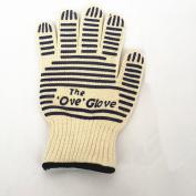 O-Glove Hot Surface Handler,Oven Mitt ,5-fingers Flexi Silicone Grip,