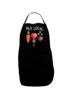TooLoud Buy Local - Vegetables Design Dark Adult Apron