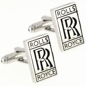 ROLLS ROYCE Logo Automotive Car Cufflinks