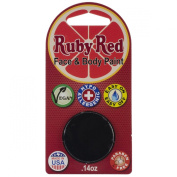 Ruby Red Face Paint - Black