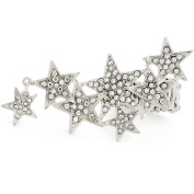 Seven Stars Crystal Stretch Ring