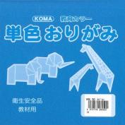 Origami Paper Single Colour 15cm (5.9 In) No.50 Cobalt Blue