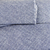 Double Fold Quilt Binding 2.2cm 3 Yards-Light Denim