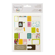 Project Life Themed Card, Planner