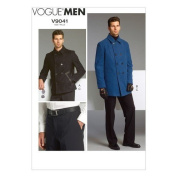 Vogue Patterns V9041 Men's Jacket and Pants Sewing Template, Size MUU