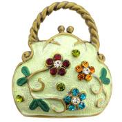 Light Green Flower Handbag Pin Brooch