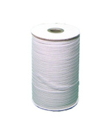 Braided Elastic 0.3cm Wide 288 Yards-White