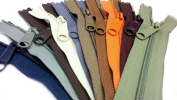 Zipperstop Wholesale YKK® Sale 18cm Handbag Zipper (Special Assorted 10 Colours) YKK #4.5 with Extra-long Pull