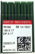 Groz-Beckert 135 X 17 #21 Sewing Machine Needles