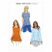 Vogue Patterns V9084F50 Misses' Top Sewing Template, Size F5