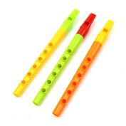 Chunshop 3Pcs Plastic Kids Toy Piccolo Flute Pipes Musical Instrument Early Education Toy