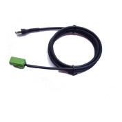 Car Female 3.5mm AUX Input Adapter Audio Cable for Renault Espace Kangoo Trafic Clio Megane Laguna Scenic 2005-2011