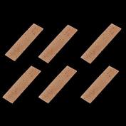 6 pcs Bb Clarinet Neck Joint Cork Sheet Natural Natural Cork 2MM Clarinet Parts