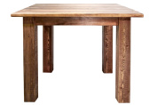 Montana Woodworks Homestead Collection 4-Post Dining Table, Stain and Lacquer Finish
