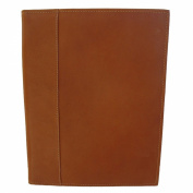 Piel Leather Letter-Size Padfolio with Organiser