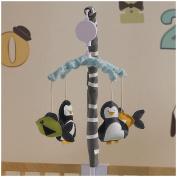 Lolli Living Phinley Musical Mobile - Penguin
