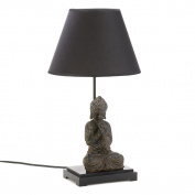Koehler Indoor Home Decorative Accent Buddha Figurine Tabletop Statue Lamp