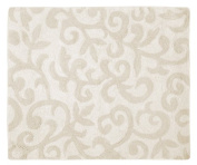 Victoria Champagne and Ivory Accent Floor Rug