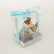Polyresin Baby Shower Favours, 7.6cm - 1.3cm , Baby Elephant