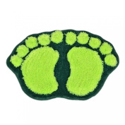 Outtop Lovely Hulk Footprint Bibulous Mat Carpet for Bathroom Kitchen Floor